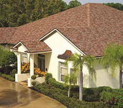 GAF Camelot Shingles on house in Florida