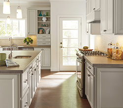 Homecrest Lautne MS and Brown Cabinets